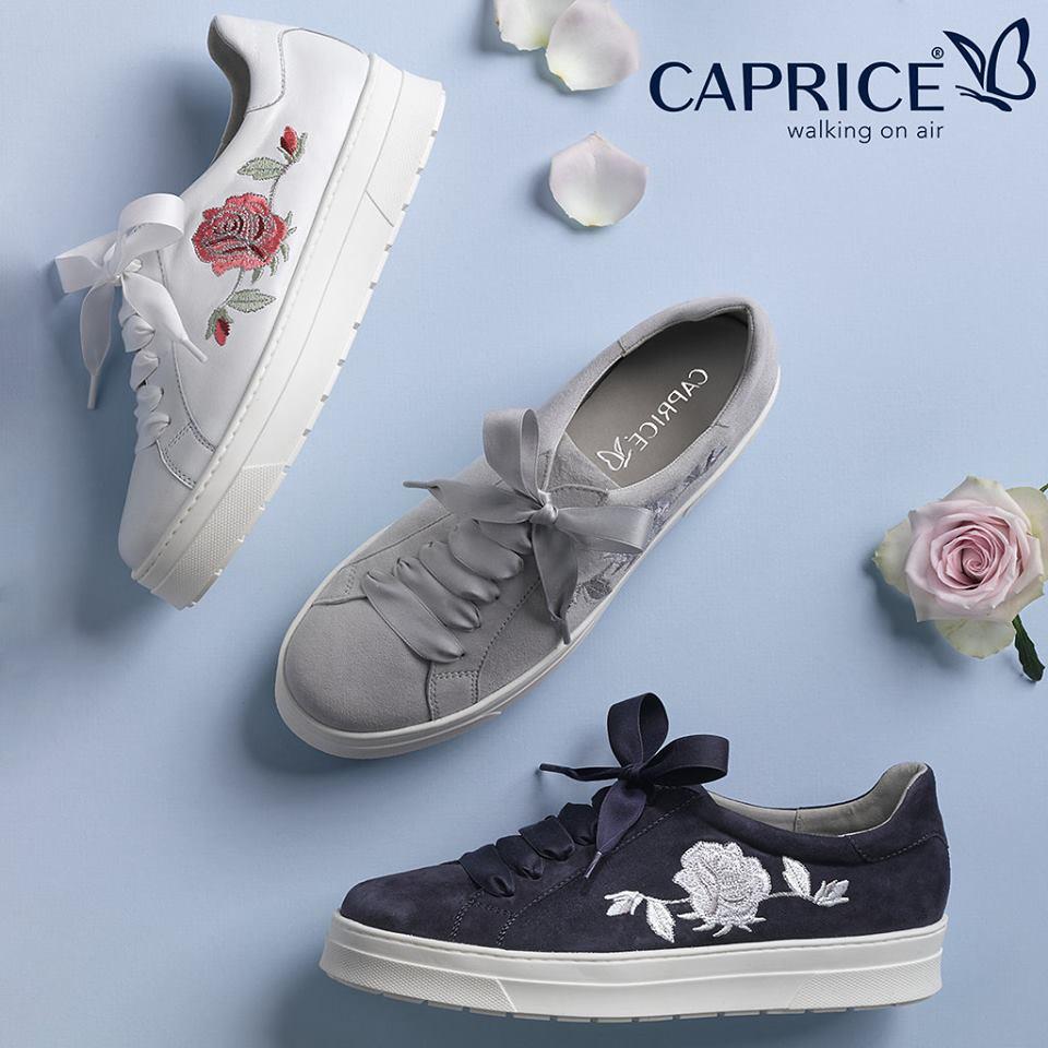 Sneakers Caprice da donna primavera-estate 2018