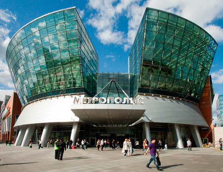 The updated shopping center will host the Metropolis Fashion Weeks