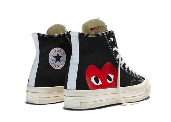 Converse and Comme des Garçons created the last capsule