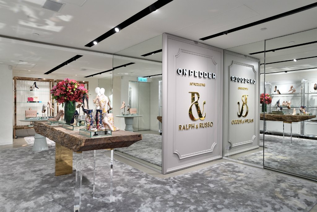 Ralph & Russo opened a pop-up store in Hong Kong