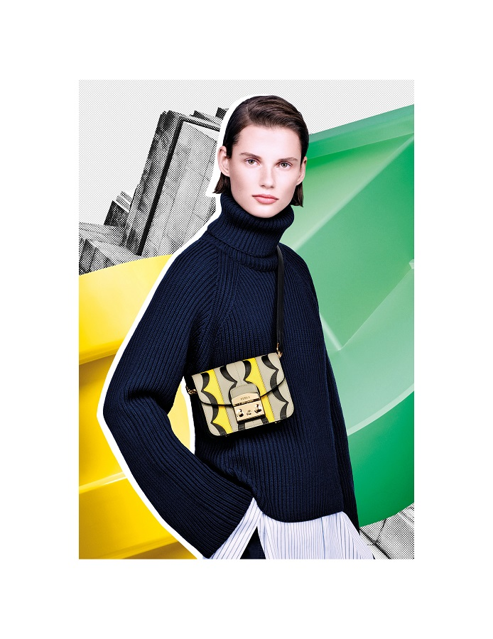 Dynamic and feminine. New Furla advertising images created with Fabien Baron