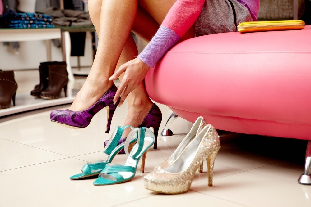On pre-holidays, demand for elegant shoes is growing