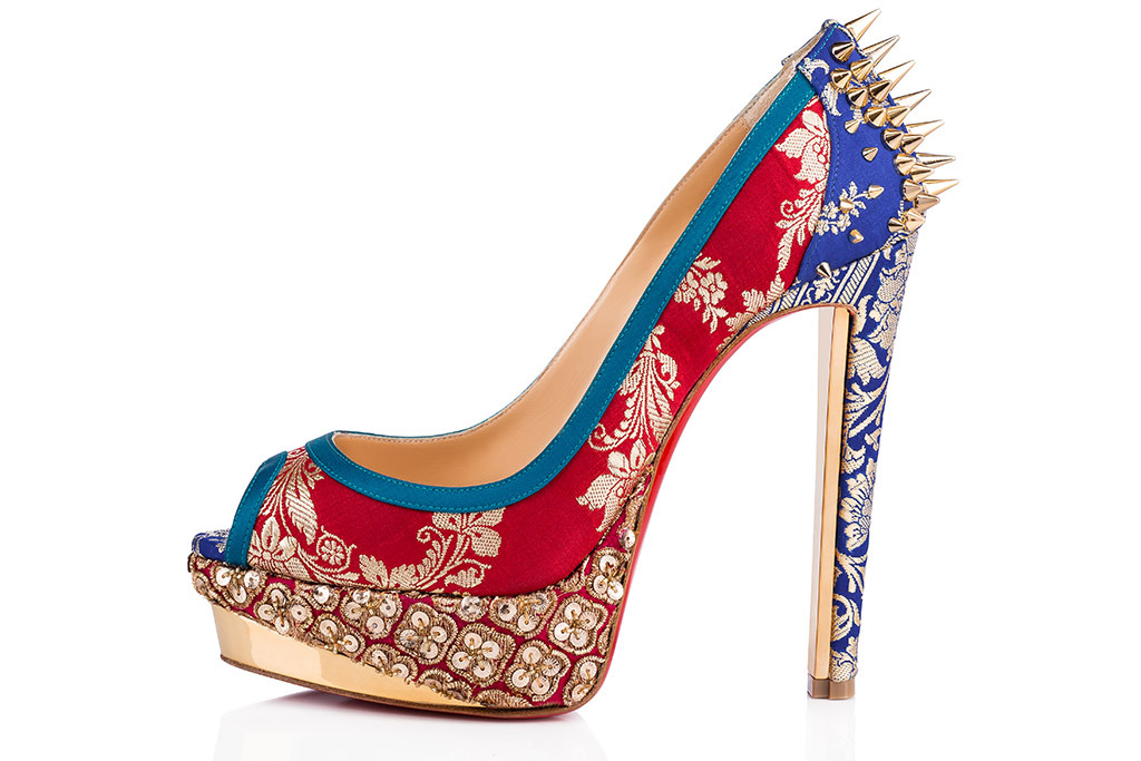 New Christian Louboutin Collaboration with Indian Couture Designer