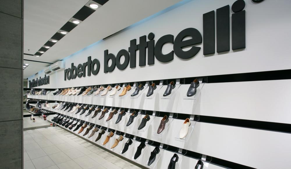 Roberto Botticelli boutique appeared in Novokuznetsk