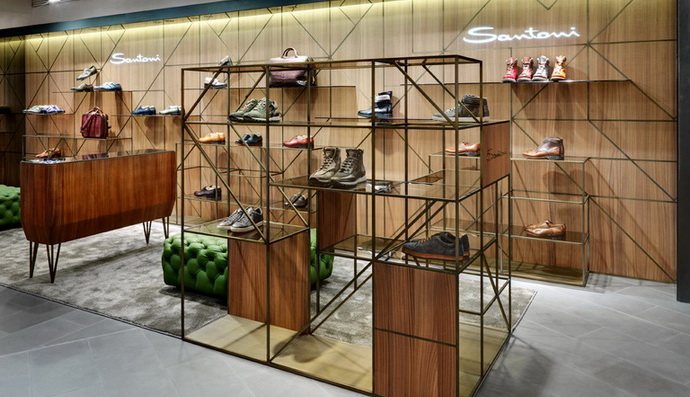 Updated Santoni boutique opened at Crocus City Mall
