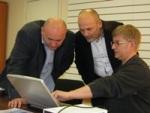Mila discutió la cooperación con TM Bartek