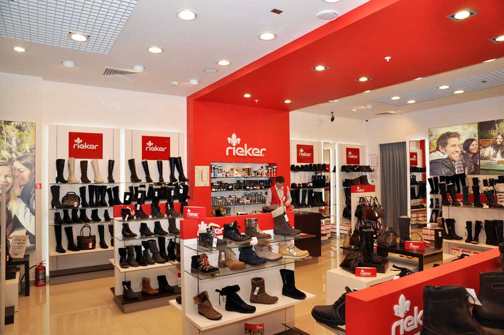 A new Rieker store opened in Novosibirsk
