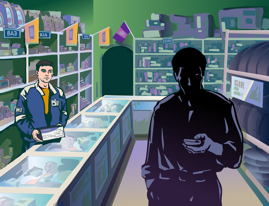 """Russian startup Bino has developed an application for working with """"mystery shoppers."""""""