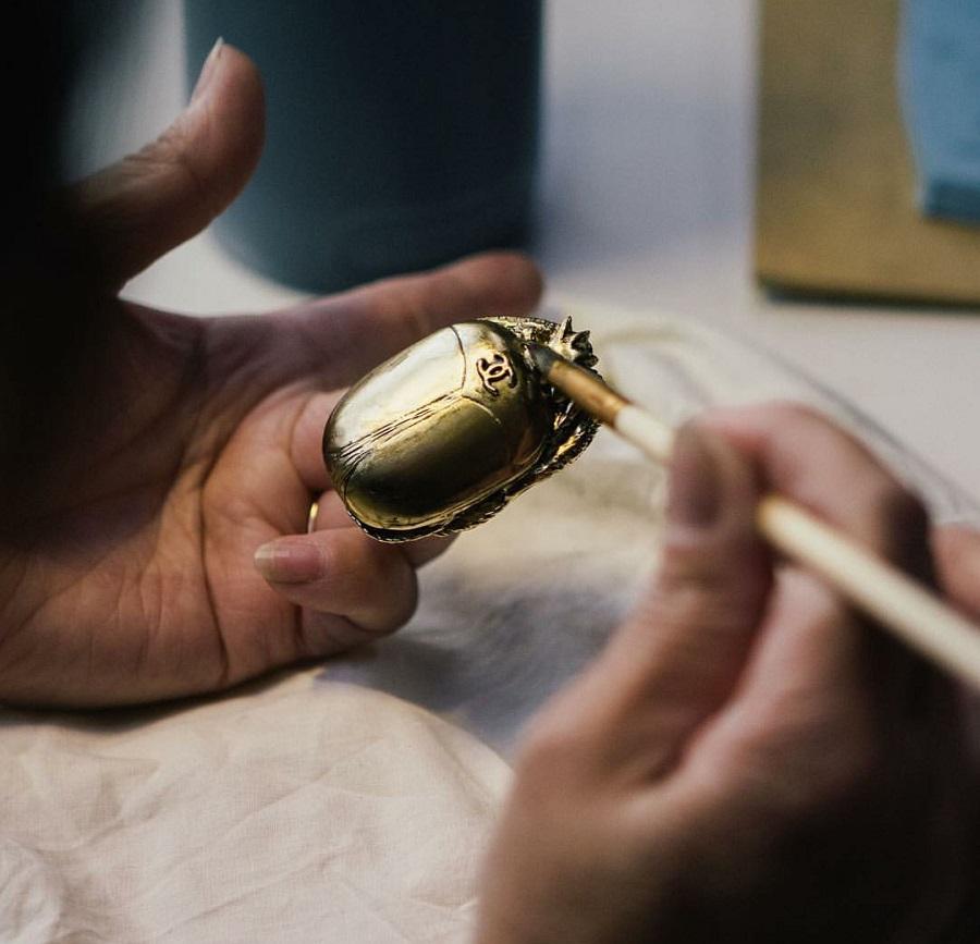 In der Werkstatt von Goossens, Foto: Chanelofficial