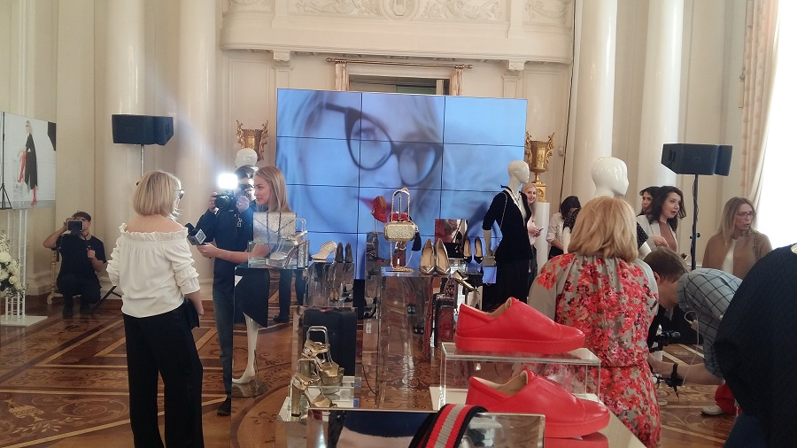 In Moscow, presented a new collection of shoes from Econika and Evelina Khromchenko