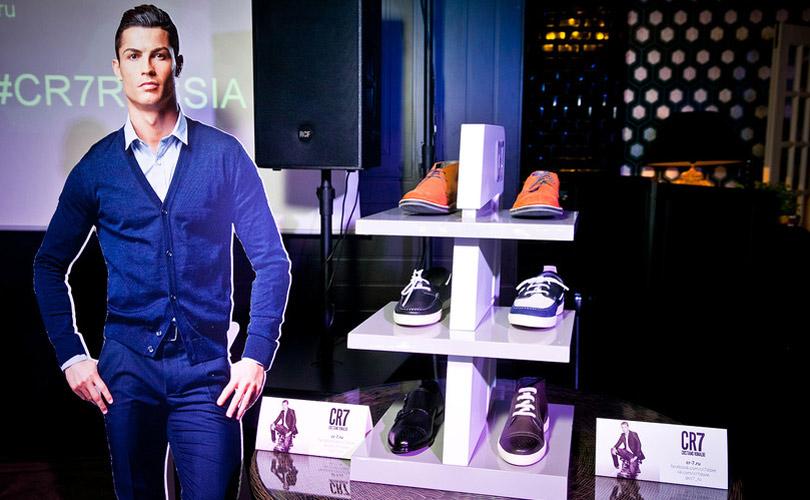 CR7 brand sales start in Russia