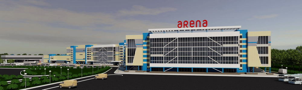 Arena in Barnaul will become a super-regional shopping center
