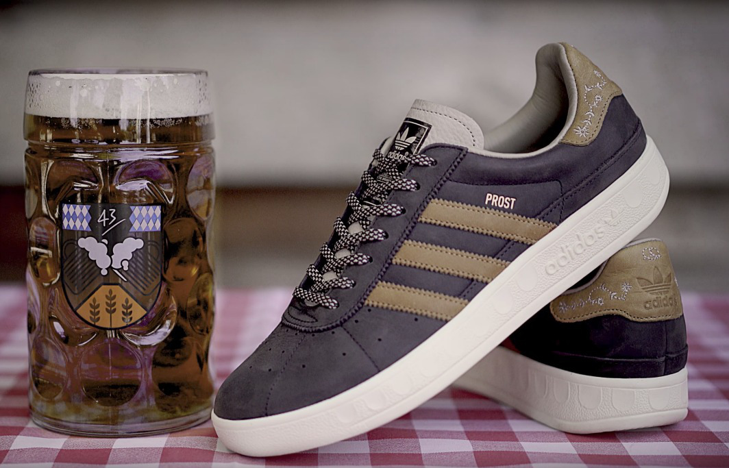 Adidas released sneakers with special protection for the Oktoberfest festival