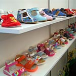 Rating of the popularity of children's shoe brands on the Internet. Children's shoes market index. June 2011.