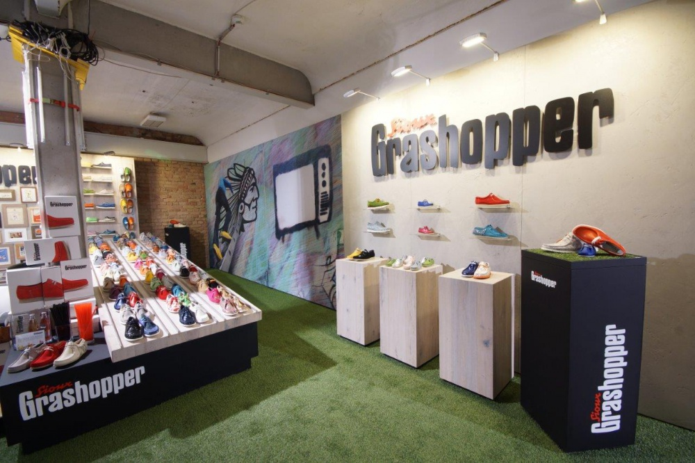 The second life of Grashopper shoes from SIOUX