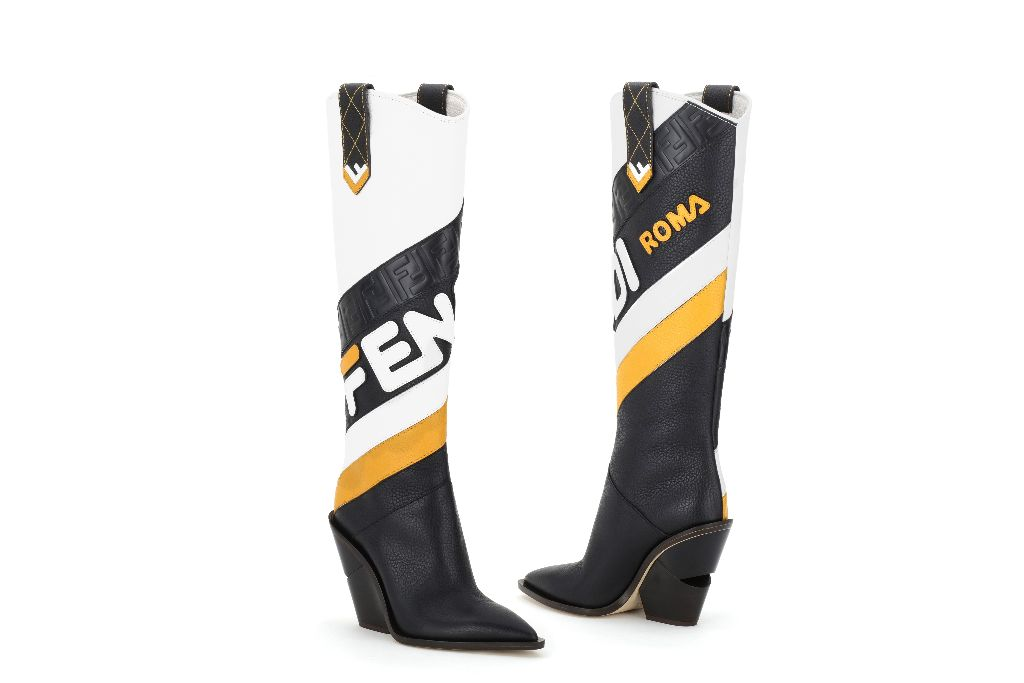 Fendi Cutwalk boots from the new FendiMania collection, photo: Footwearnews.com
