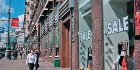 Street-retail in Moscow lost another 3% of tenants