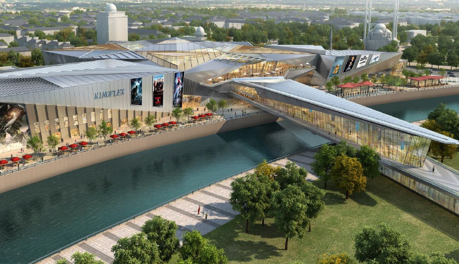 Grozny Mall will be built in the center of Grozny