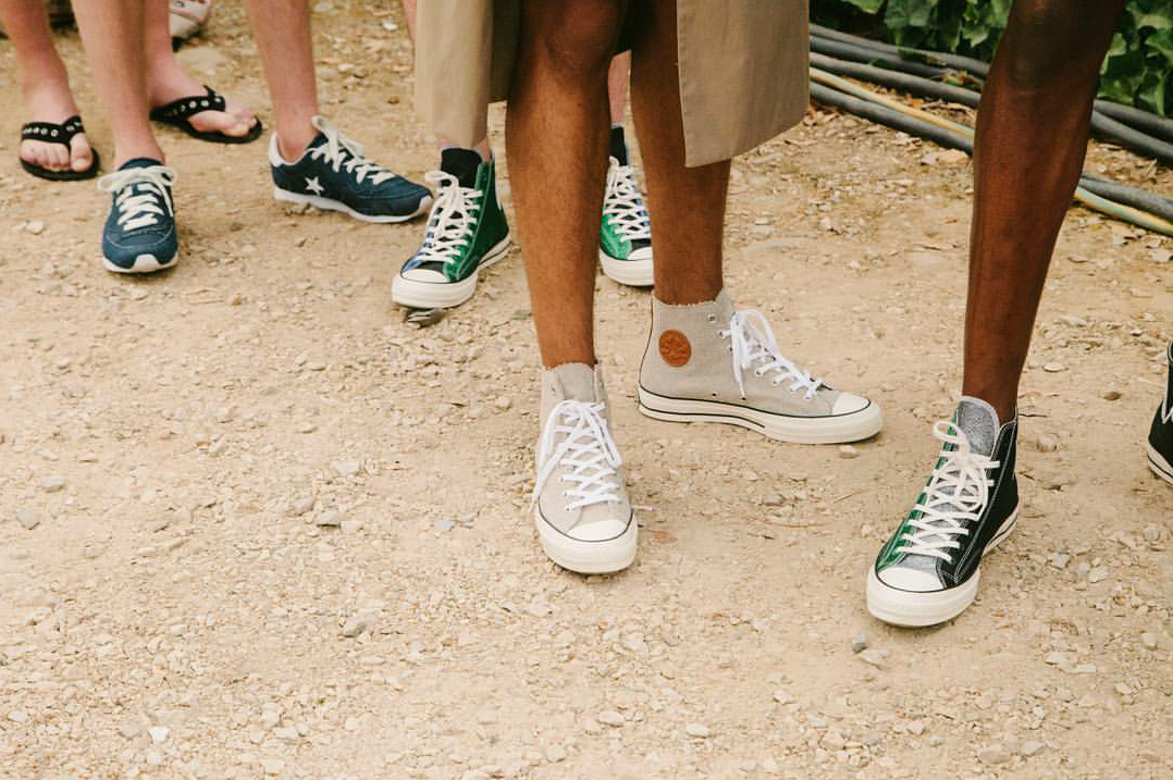 Converse engages luxury brand JW Anderson