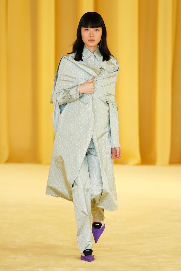 Prada Spring-Summer 2021, photo: Vogue.co.uk