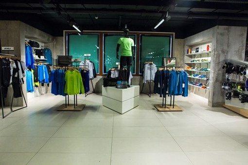 "In the ""Fashion Season"" opened the corner Podium Sport"