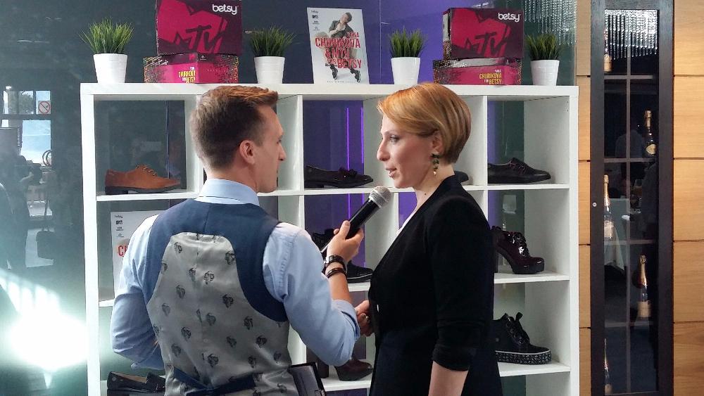 Presentation of Yana Churikova & MTV for BETSY