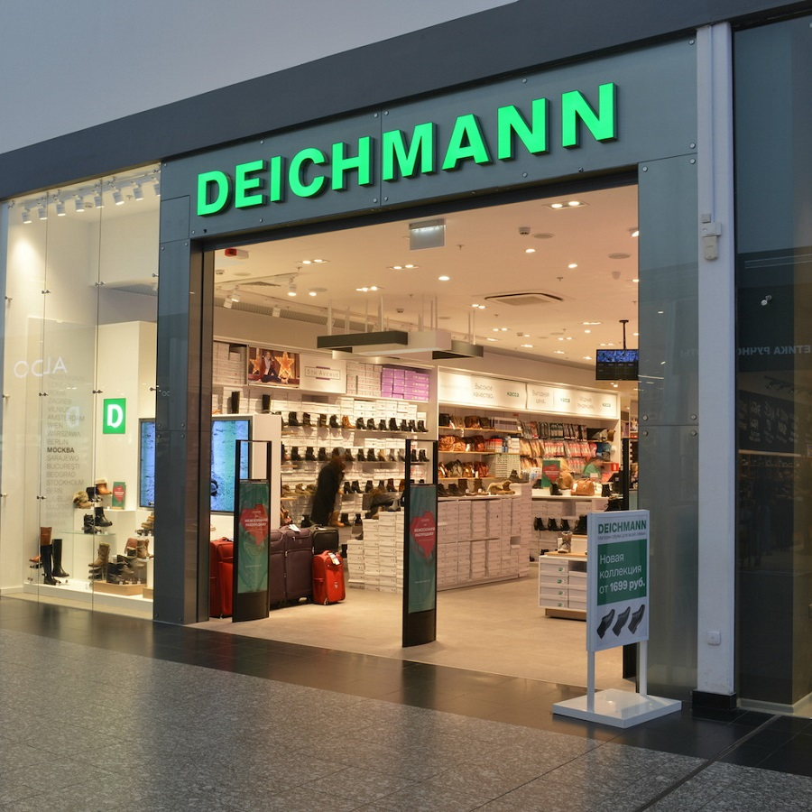 German shoe brand Deichmann opened its first store in Tver