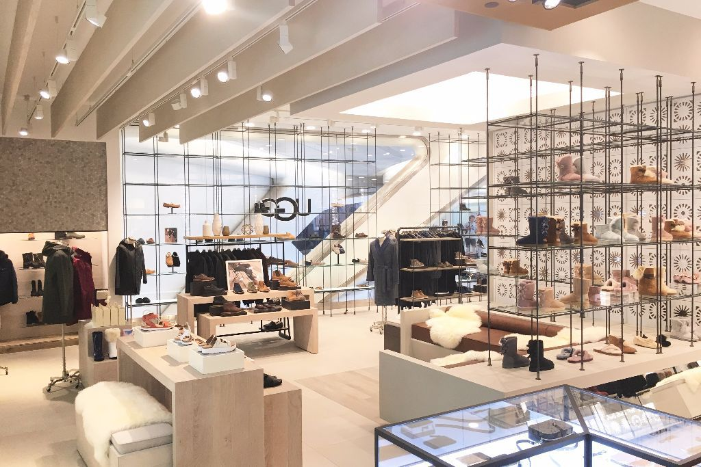 UGG opened its third store in New York