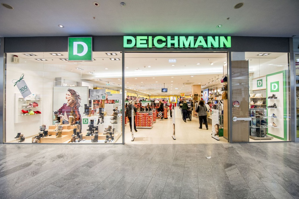 """In the shopping center """"Red Whale"""" opened the fifth Deichmann"""