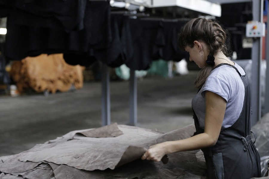 Shoe leather production expanded in Vyazma
