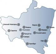 Volga region at 2 retail sales