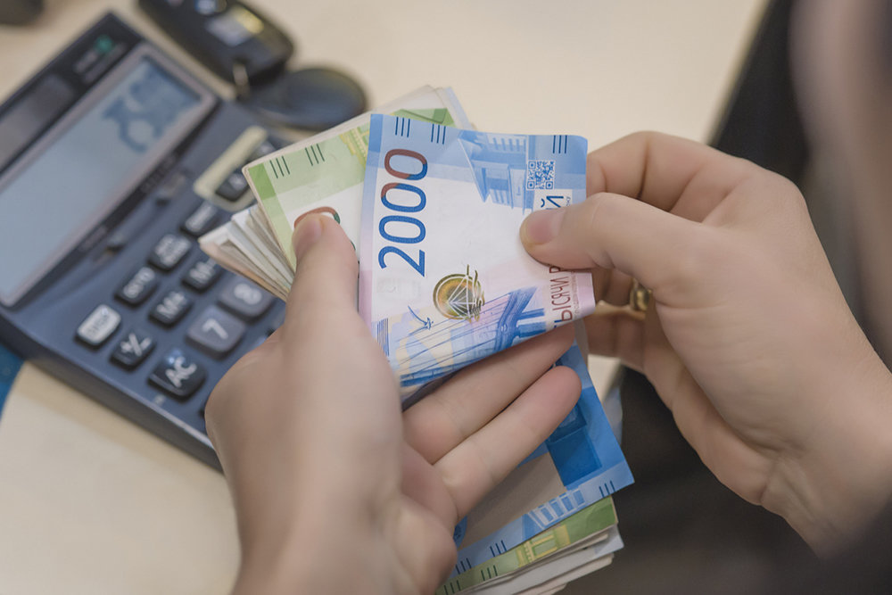 The spending of Russians in the week of sales has almost halved