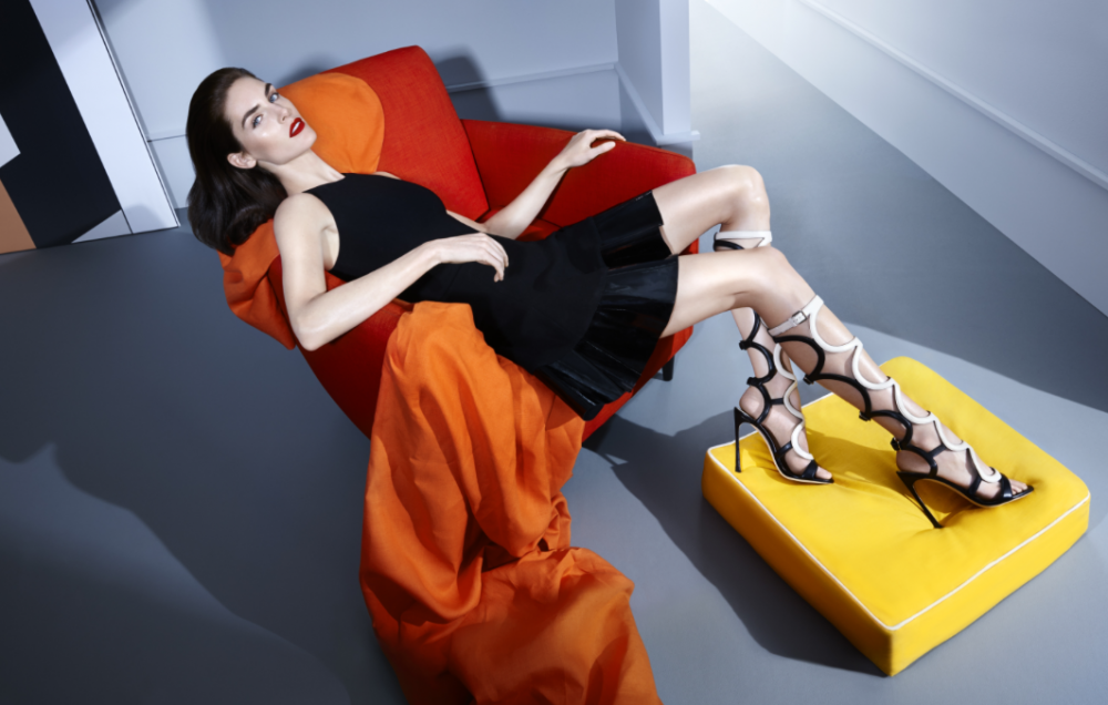 Sergio Rossi launches eco-friendly shoe collection
