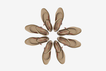 The Tegin brand has launched a shoe collection with Rocco P.