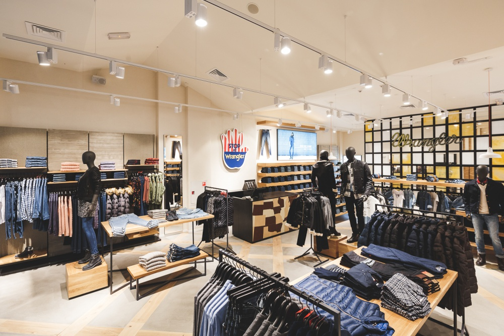 New Wrangler retail concept store opens at Metropolis Shopping Center
