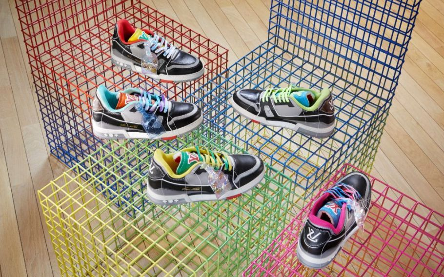 Louis Vuitton launches pop-up to support Virgil Abloh's vintage sneakers