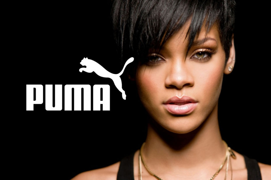 Puma presented a joint collection with Rihanna