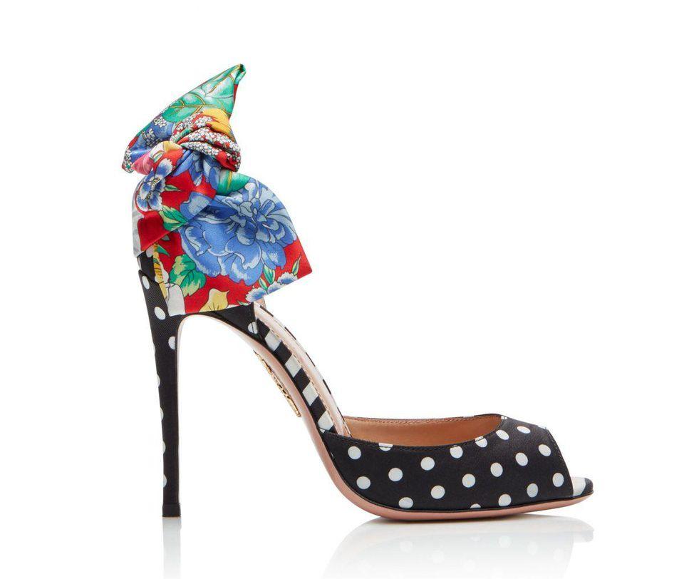 Aquazzura x Racil, Versailles Sandals