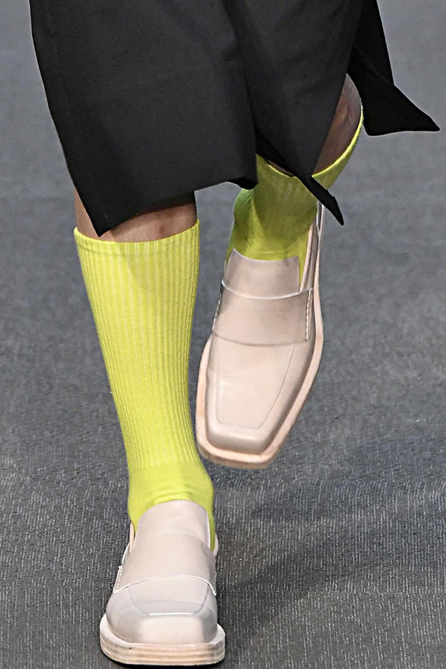 Construction: Square Nose Loafers