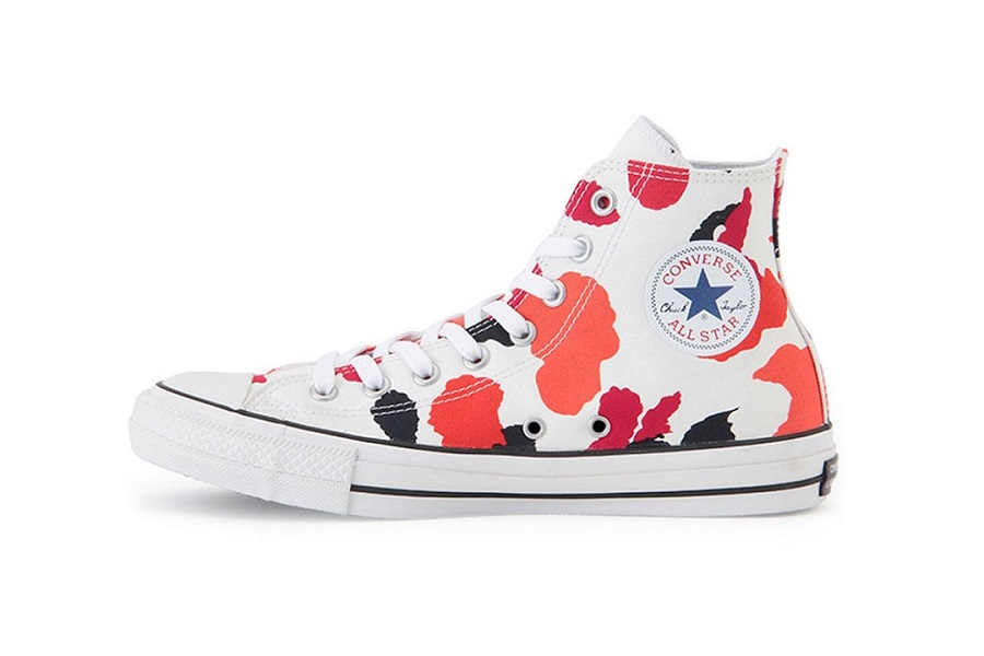 Converse released his iconic model in fun camouflage colors