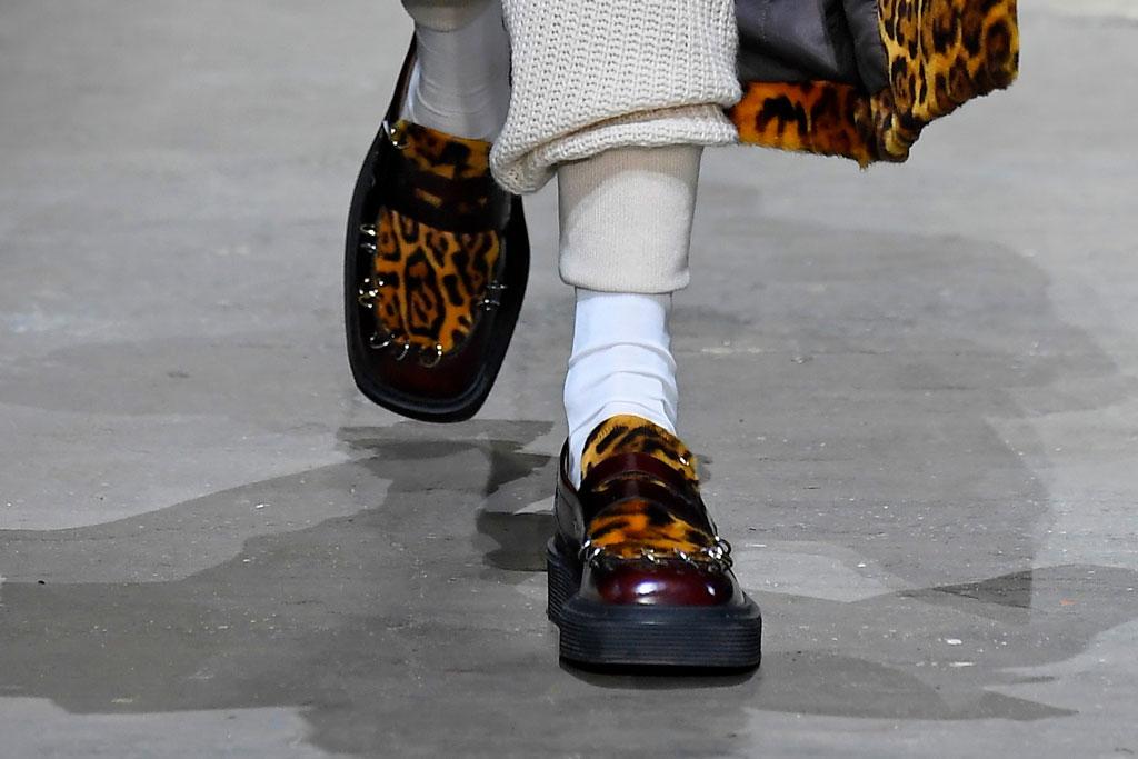 Marni Leopard Loafers, Autumn'19, Foto: Footwearnews.com