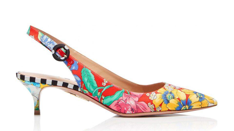 Aquazzura x Racil Pure Sling Open Heel Sandals
