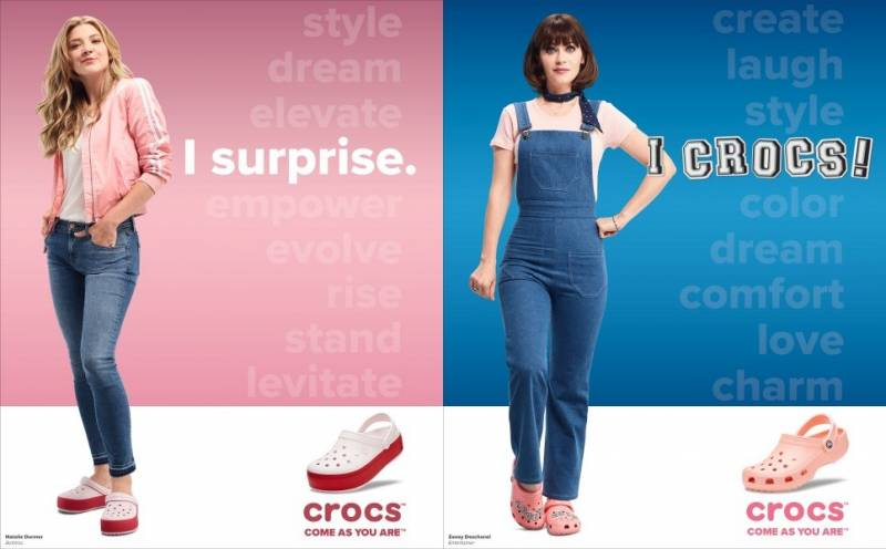 Crocs Launches Third Come As Movie Campaign