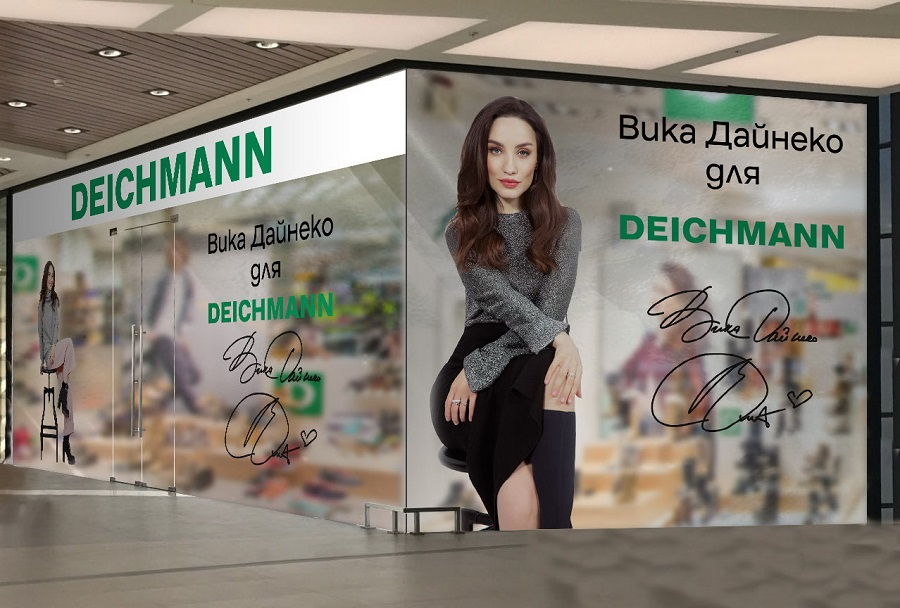Deichmann opens a pop-up store in support of collaboration with Victoria Daineko
