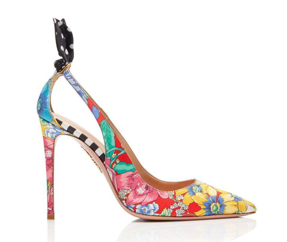 Aquazzura x Racil Deneuve Shoes