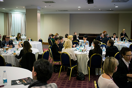 In St. Petersburg, discussed the Russian luxury market