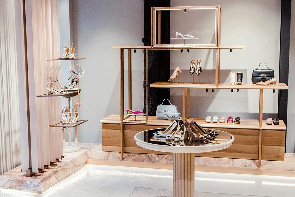 Sergio Rossi opens second US boutique