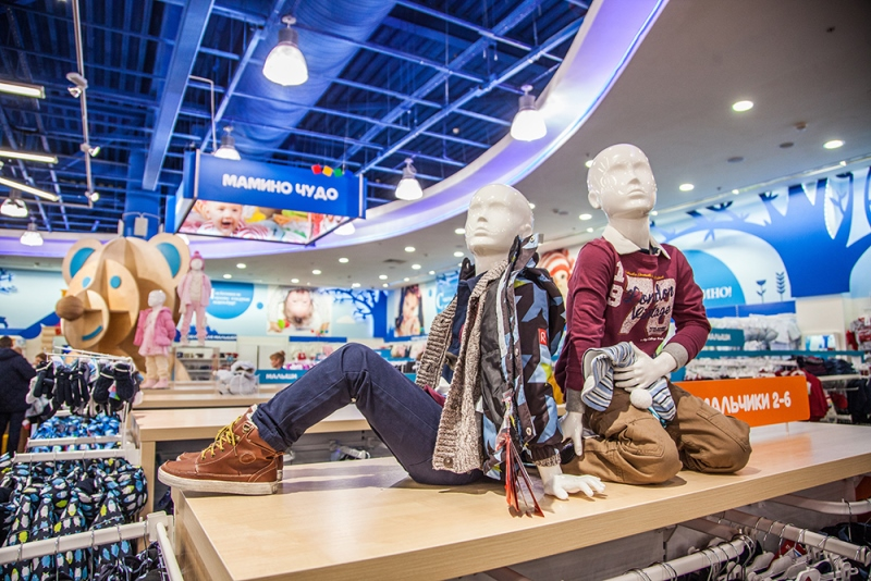 Detsky Mir opened stores in Rumyantsevo and Domodedovo