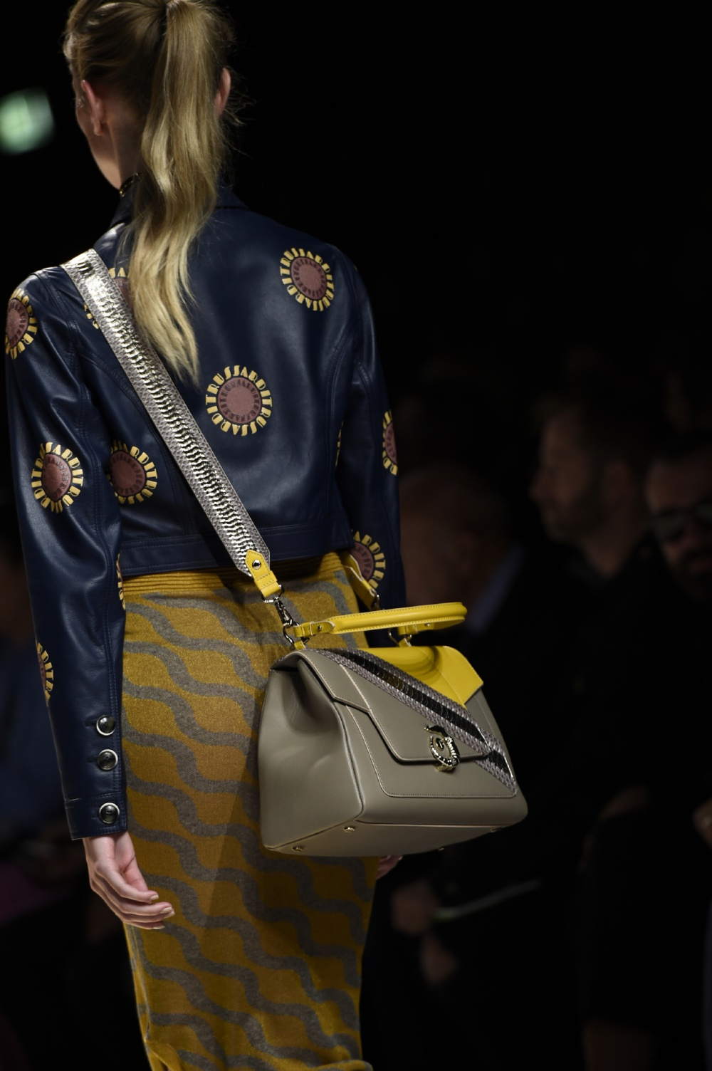 Gaia Trussardi introduced a new version of Lovy Bag