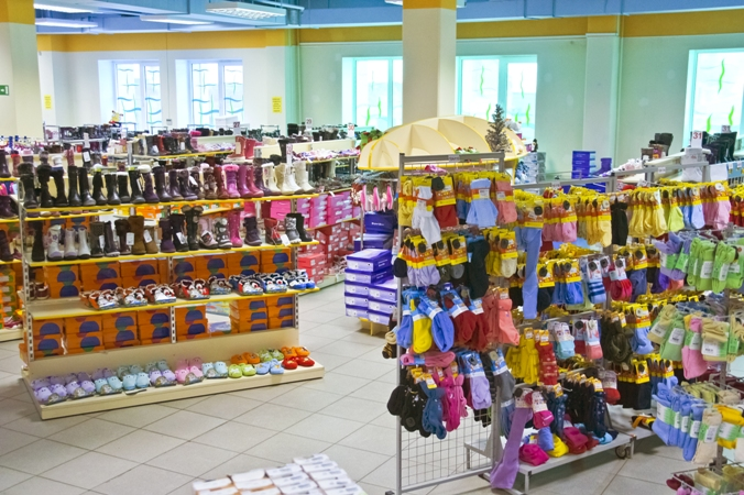 "In the Moscow region opened new stores network ""Children's World"""